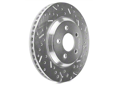 Xtreme Stop Precision Cross-Drilled & Slotted Rotors - Front Pair (05-10 GT; 11-14 V6)