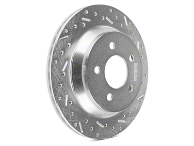 Xtreme Stop Precision Cross-Drilled & Slotted Rotors - Rear Pair (94-04 Bullitt, Mach 1, Cobra)