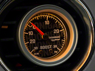 Auto Meter Hoonigan Boost/Vacuum Gauge - 30 psi Mechanical (79-17 All)