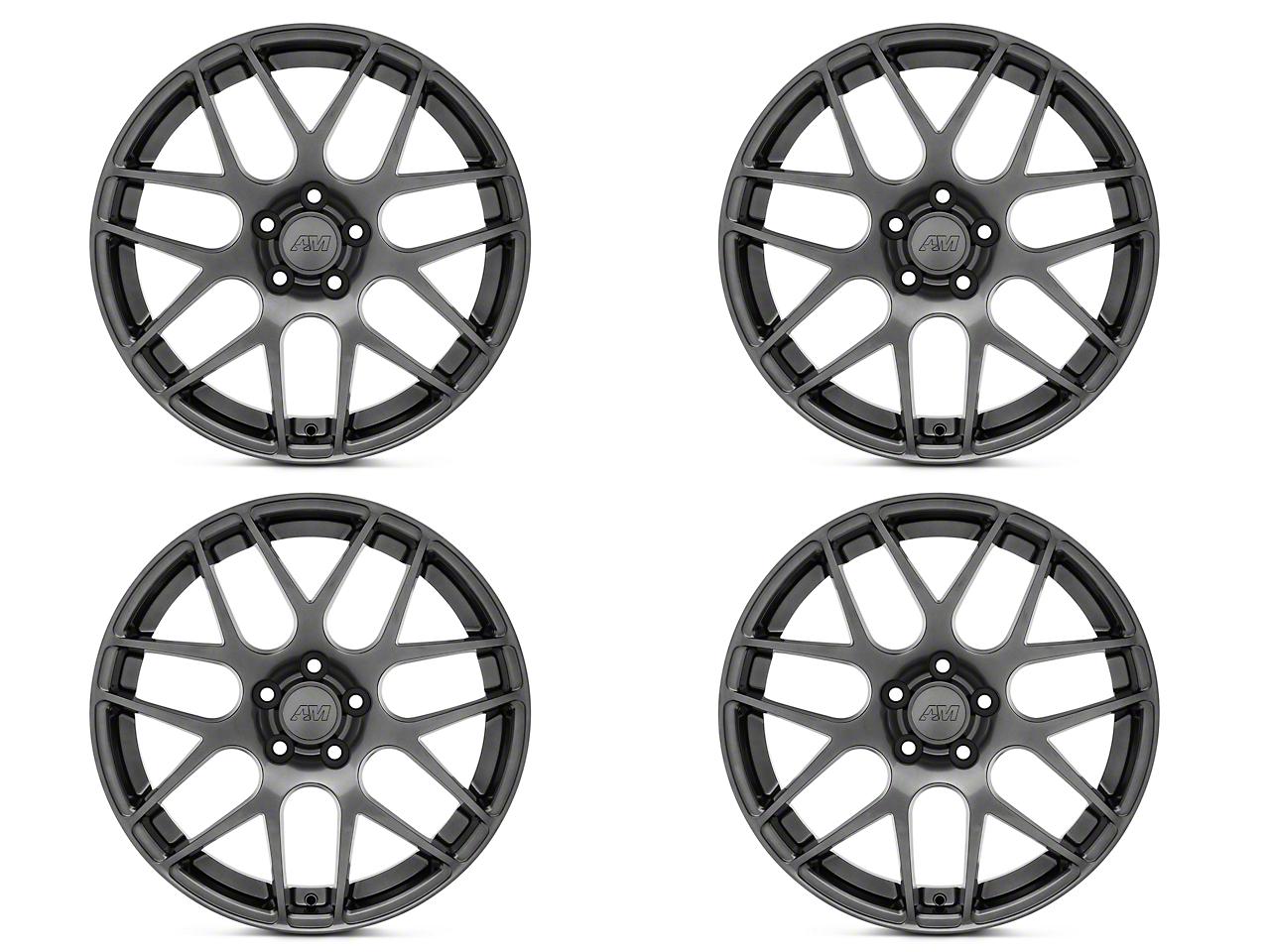 AMR Dark Stainless 4 Wheel Kit - 19x8.5 (05-14 All)