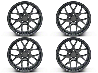 AMR Black 4 Wheel Kit - 18x9 (05-14 All)