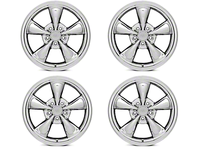 Bullitt Chrome 4 Wheel Kit - 17x9 (94-04 All)