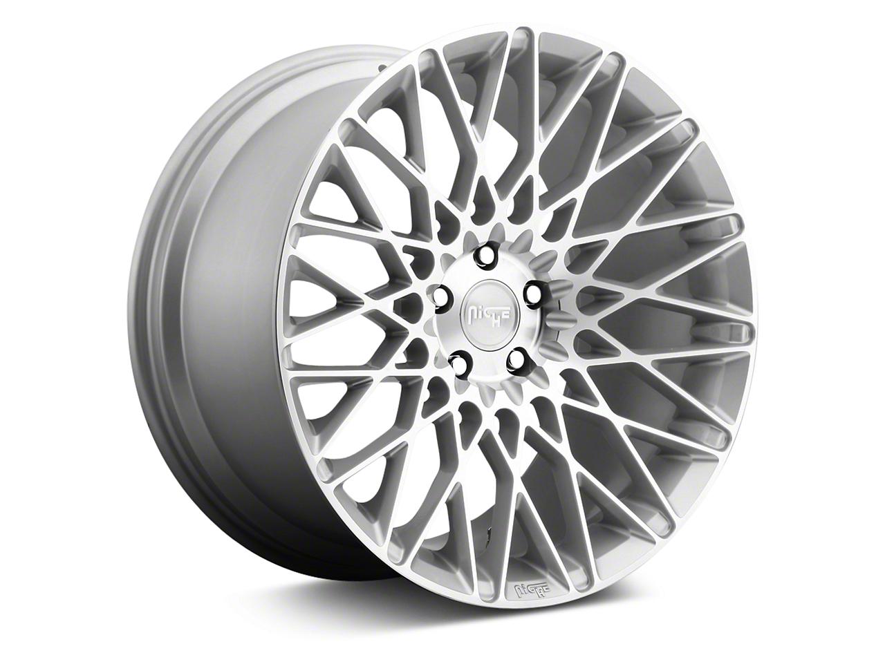 Niche Citrine Silver Machined Wheel - 19x9.5 (05-17 All)