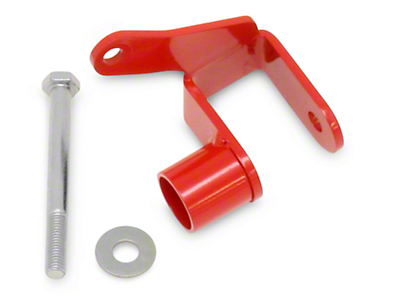 BMR Panhard Bar Relocation Bracket - Red (05-14 All)
