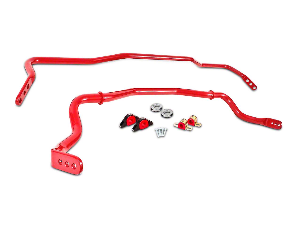 BMR Adjustable Sway Bar Kit - Red (15-17 All)
