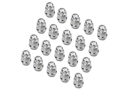 Chrome Acorn Lug Nut Kit - 1/2 in x 20 (79-14 All)