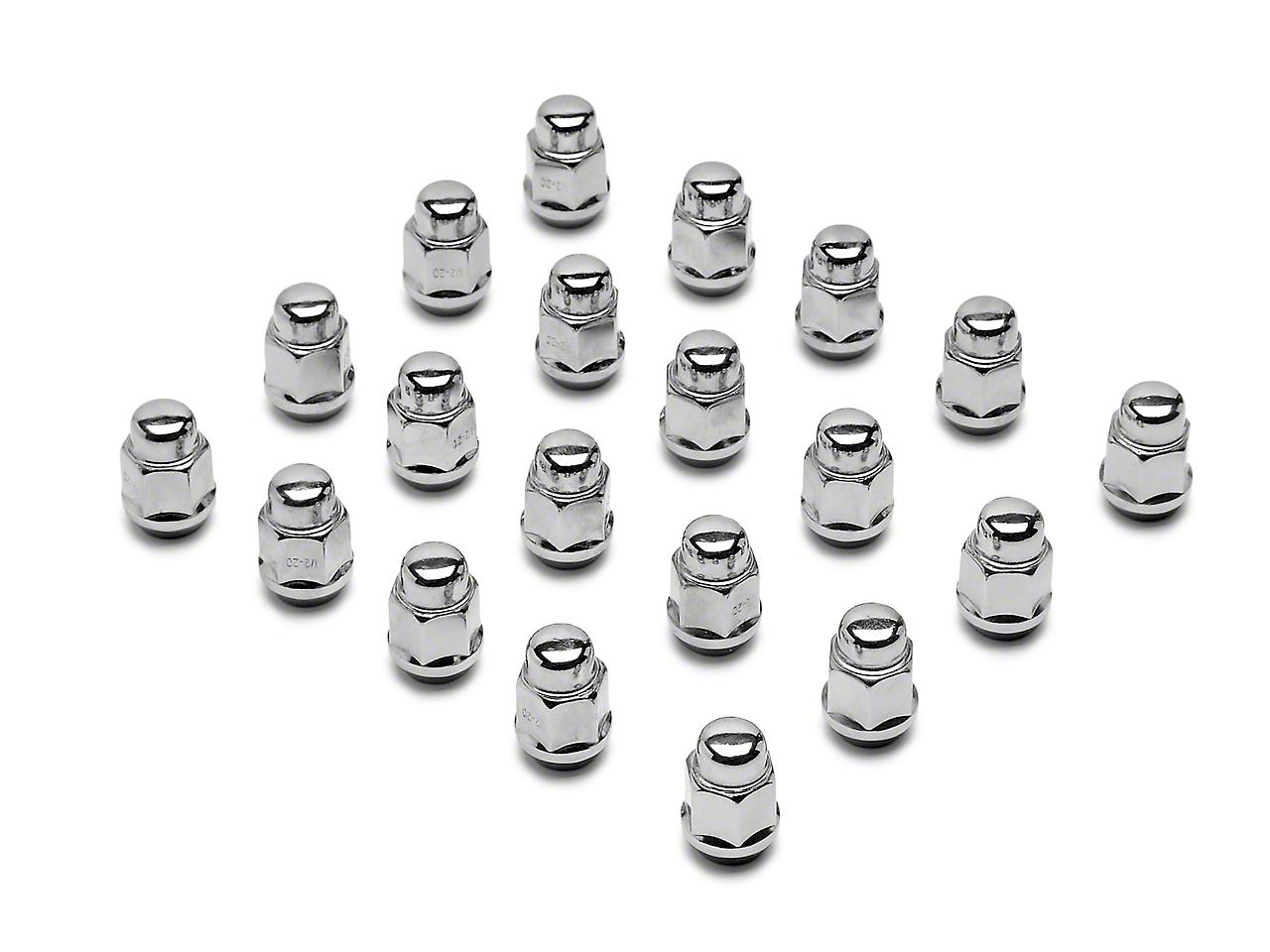 Chrome Acorn Lug Nut Kit - 3/4 in. (79-14 All)