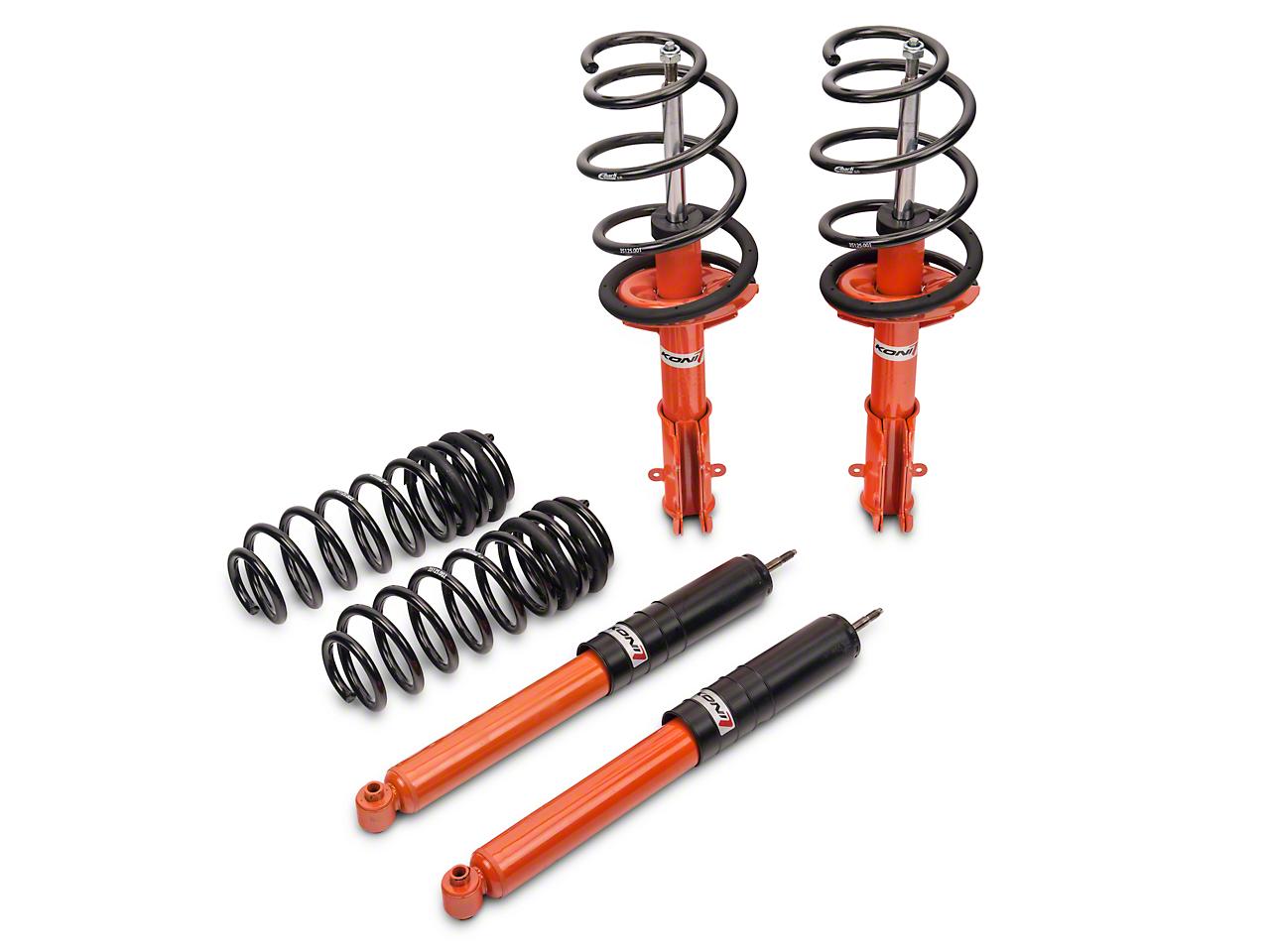 KONI STR.T Shock, Strut & Eibach Pro-Kit Lowering Spring Kit (11-14 GT, V6, BOSS)