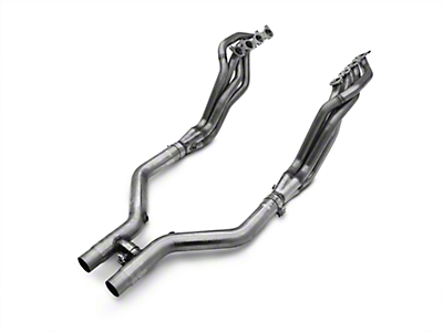 MBRP Long Tube Header and Off-Road H-Pipe Kit - 1-7/8 in x 3 in. (11-14 GT)