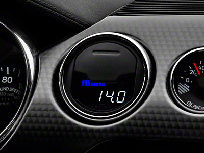Raxiom Vent Integrated Boost Gauge w/o Vent Housing (15-17 All)