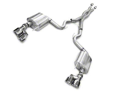 Corsa Sport 3 in. Cat-Back Exhaust - Polished Quad Tips (15-17 GT Premium Fastback)