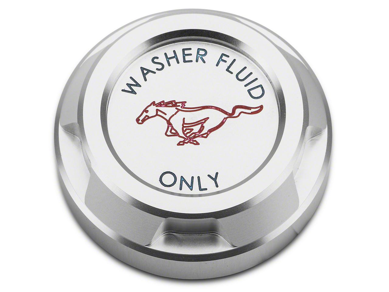 Washer Reservoir Cap - Running Pony Logo (15-17 GT, EcoBoost, V6)