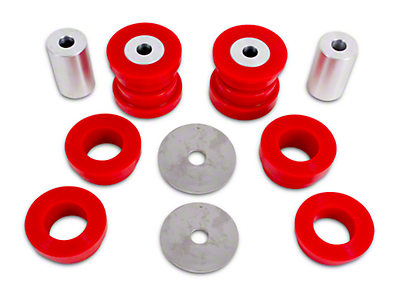 BMR Rear Cradle Bushing Kit - Red Polyurethane (15-17 All)