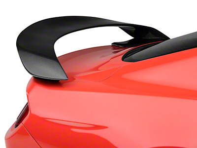 Anderson Composites GT350R Style Rear Spoiler - Carbon Fiber - Fastback (15-17 All)