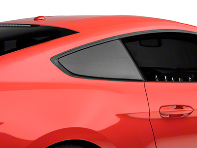 Anderson Composites Quarter Window Covers - Carbon Fiber (15-17 All)