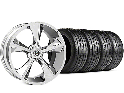 Shelby CS70 Chrome Wheel & Sumitomo HTR Z III Tire Kit - 20x9 (15-17 All)