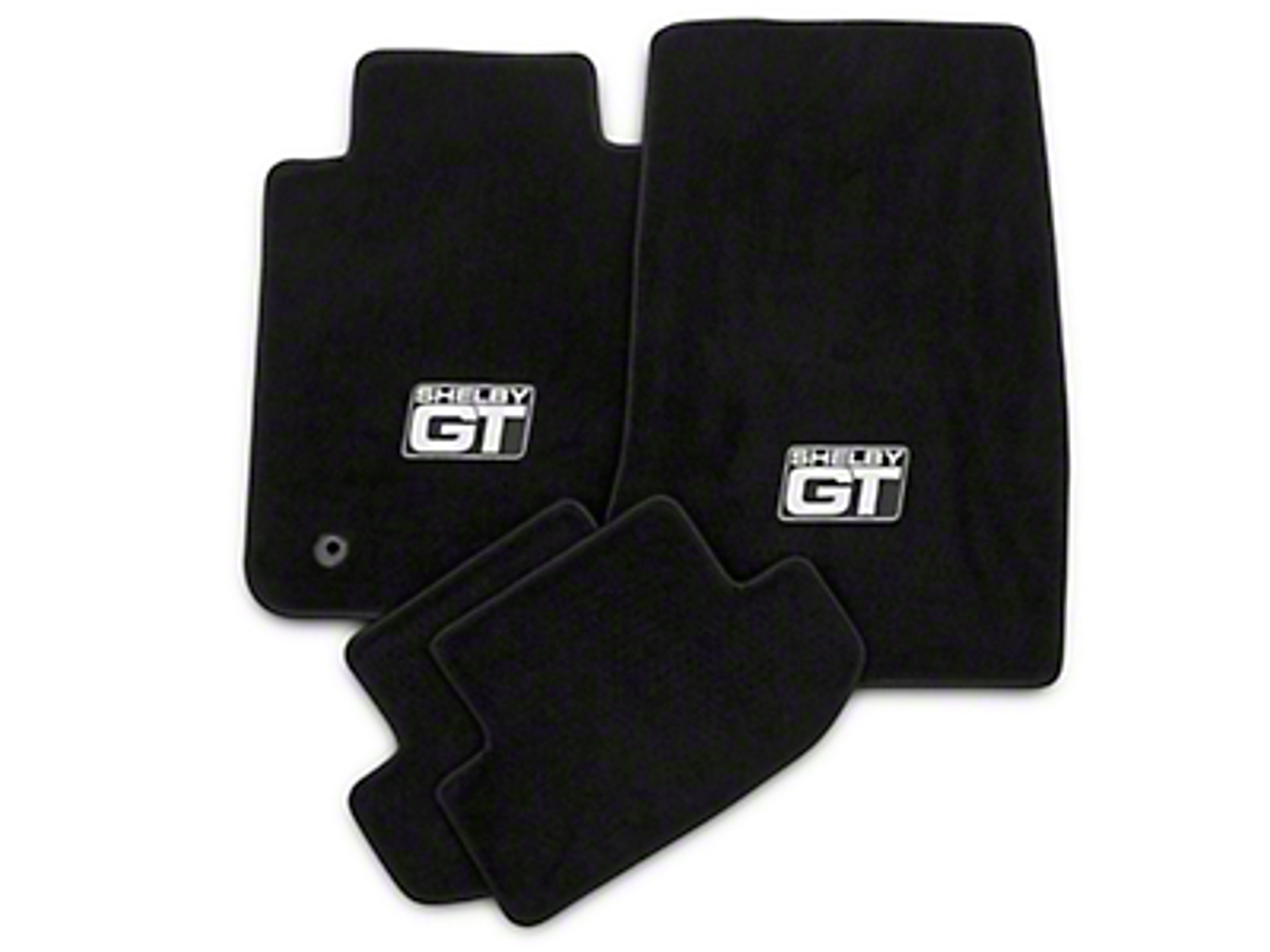 Lloyd Front & Rear Floor Mats w/ Shelby GT Logo - Black (15-17 All)
