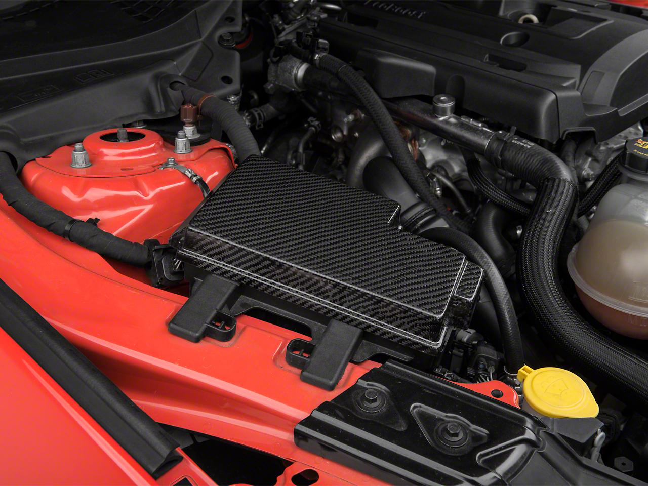 Trufiber Carbon Fiber Fuse Box Cover (15-17 GT, EcoBoost, V6)