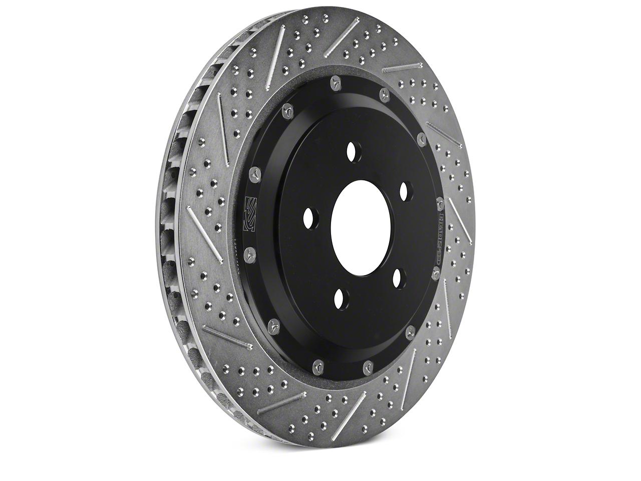 Baer EradiSpeed+ Rotors - Rear Pair (15-17 GT w/ Performance Pack)