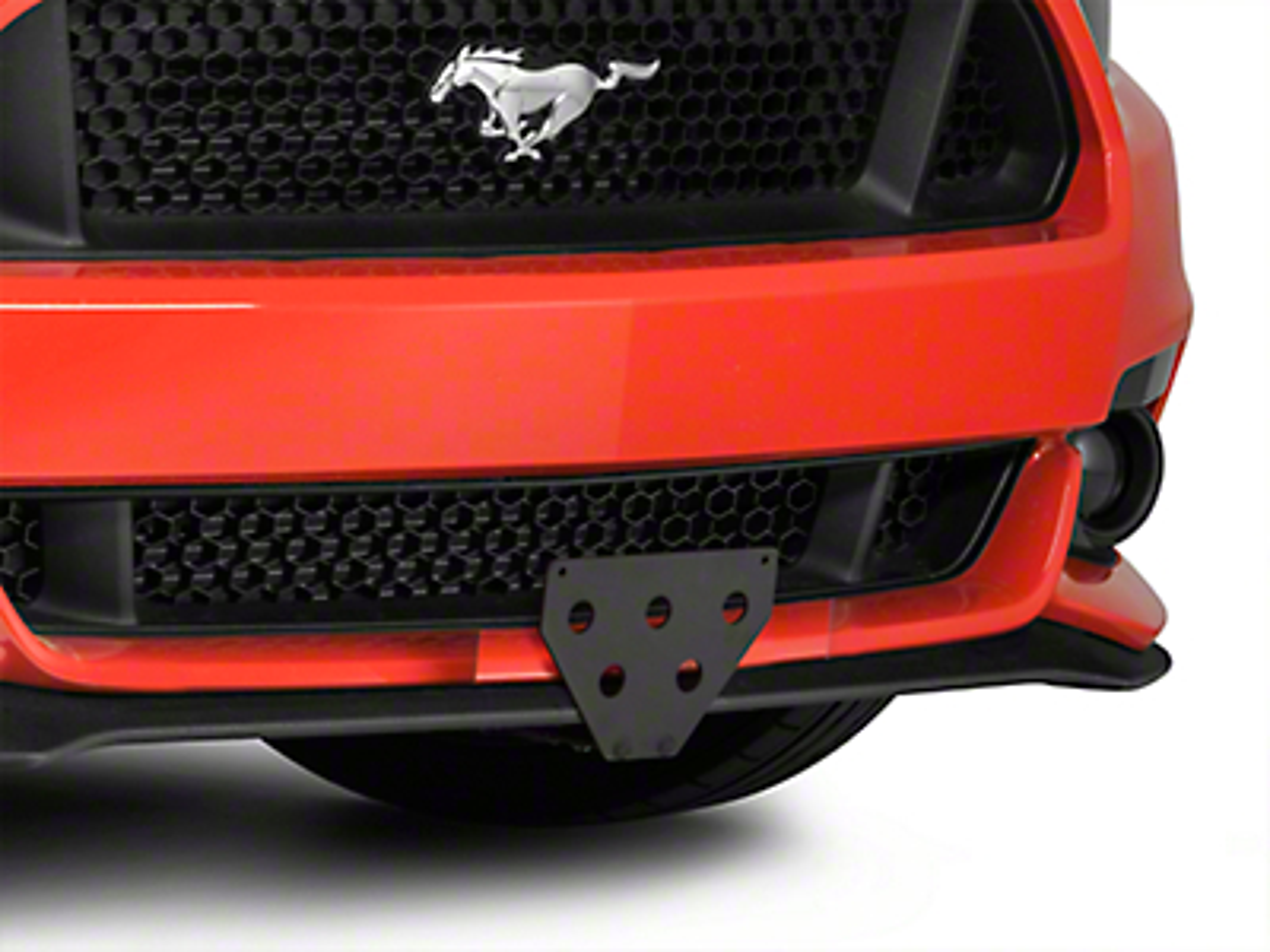 Sto N Sho Detachable Front License Plate Bracket (15-17 GT, V6, EcoBoost)
