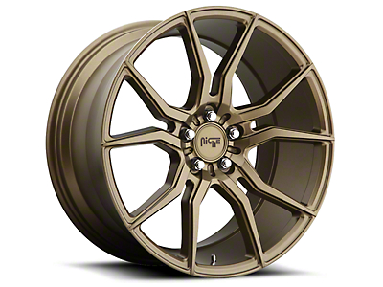 Niche Bronze Ascari Wheel - 20x9 (15-17 All)