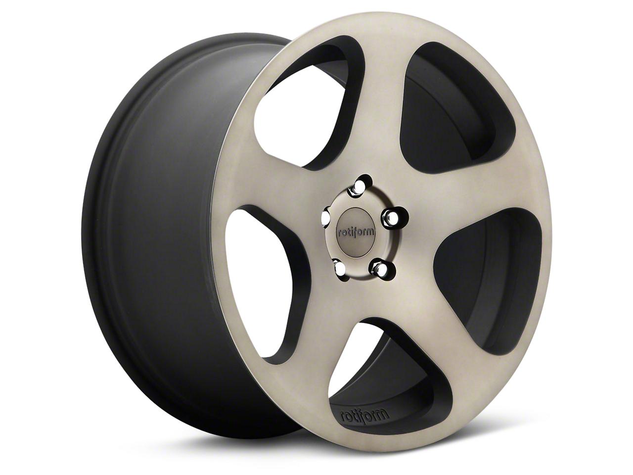 Rotiform Black Machined NUE Wheel - 19x8.5 (15-17 All)