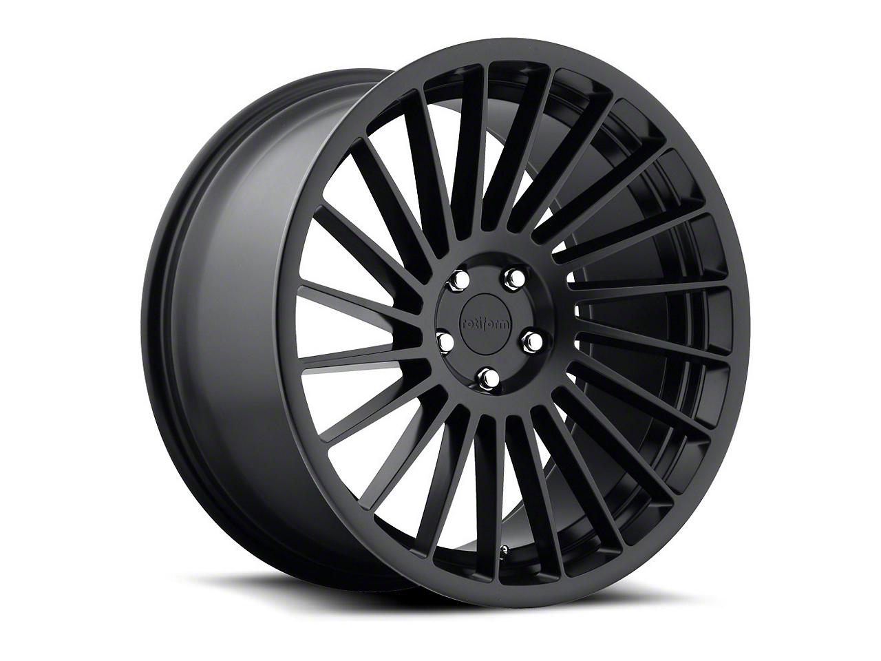Rotiform Matte Black CCV Wheel - Driver Side - 20x8.5 (05-14 All)
