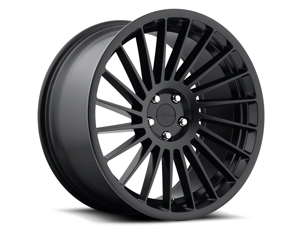 Rotiform Matte Black CCV Wheel - Passenger Side - 20x8.5 (05-14 All)