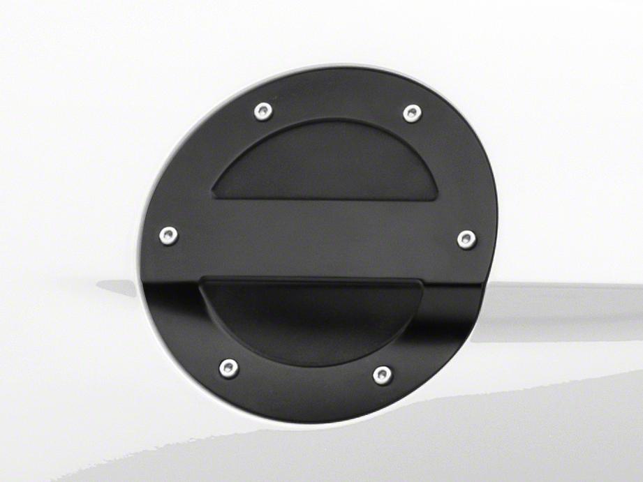 MMD Black Billet Aluminum Fuel Door (15-17 All)