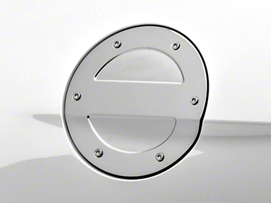 MMD Chrome Billet Aluminum Fuel Door (15-17 All)