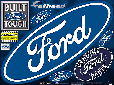 Fathead Ford Logo Street Grip Decals