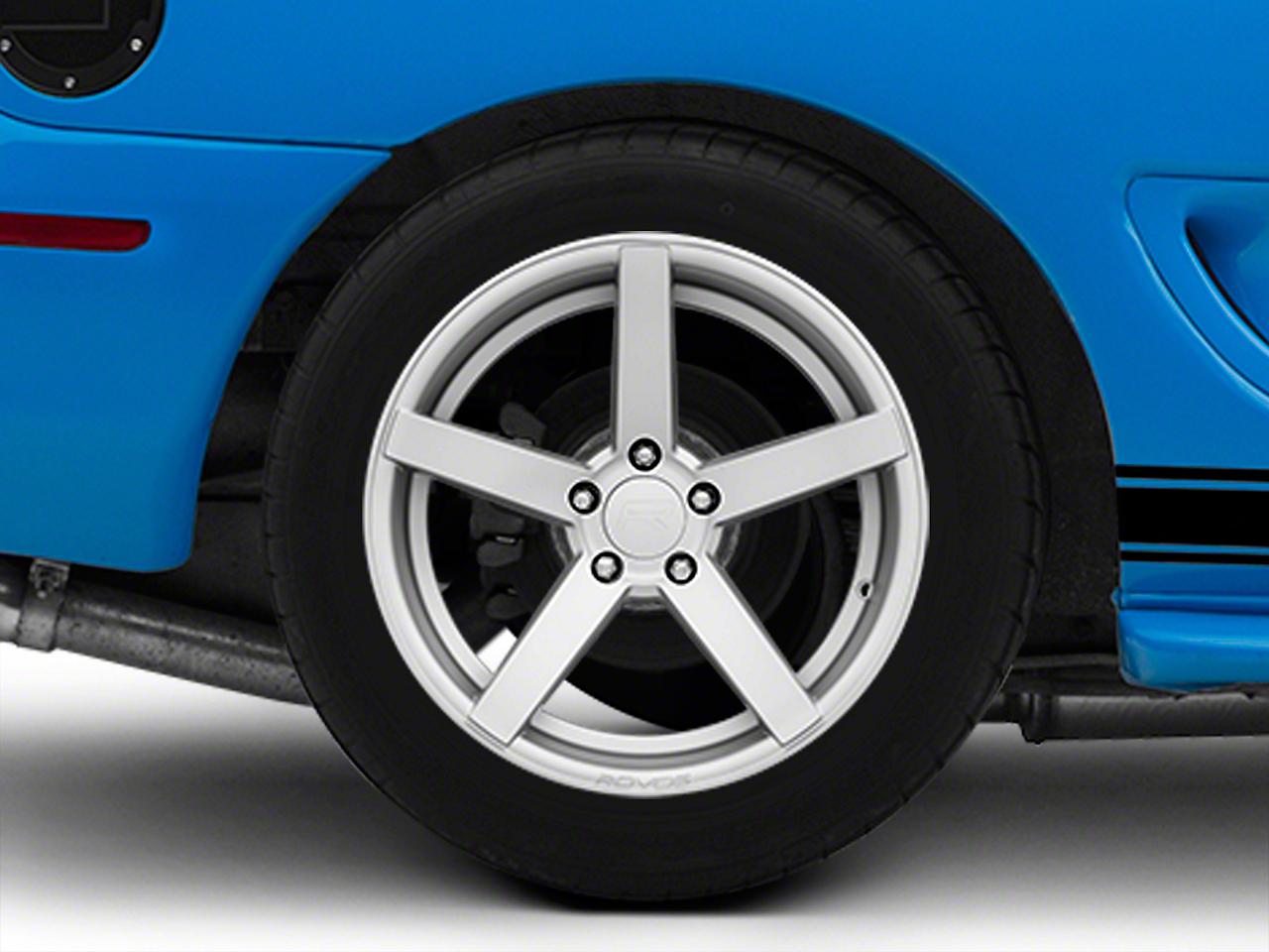 Rovos Silver Durban Wheel - 18x10.5 (94-04 All)