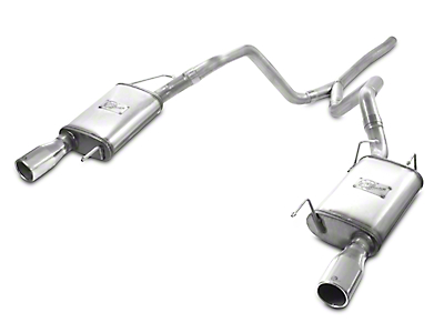 AFE Mach Force-XP 2.5 in. Cat-Back Exhaust - Polished Tips (05-09 V6)