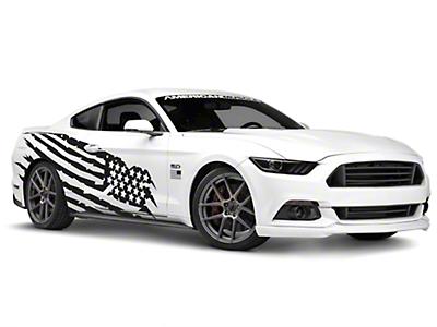 Battle Born Side Graphics Package - Coupe/Fastback (05-17 All)