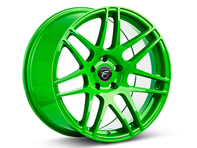 Forgestar Electric Green F14 Wheel - 19x9 (05-14 All)