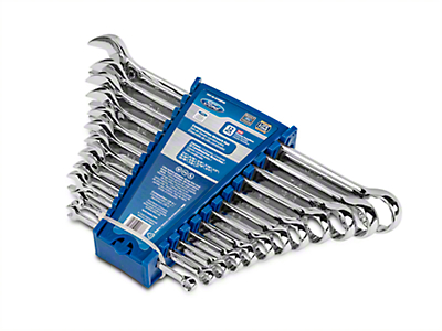 Ford 12 Piece SAE Wrench Set