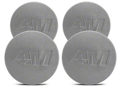 Anthracite AmericanMuscle Center Cap Kit (94-17 All)