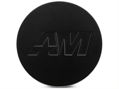 Matte Black AmericanMuscle Center Cap Kit (94-17 All)
