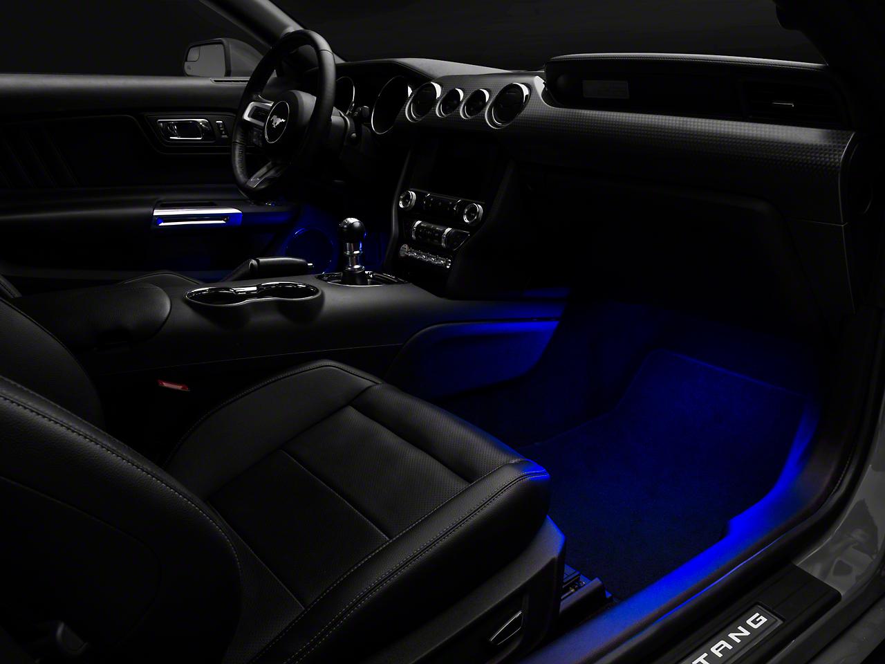 Raxiom LED Footwell Lighting Kit - Blue (15-17 All)