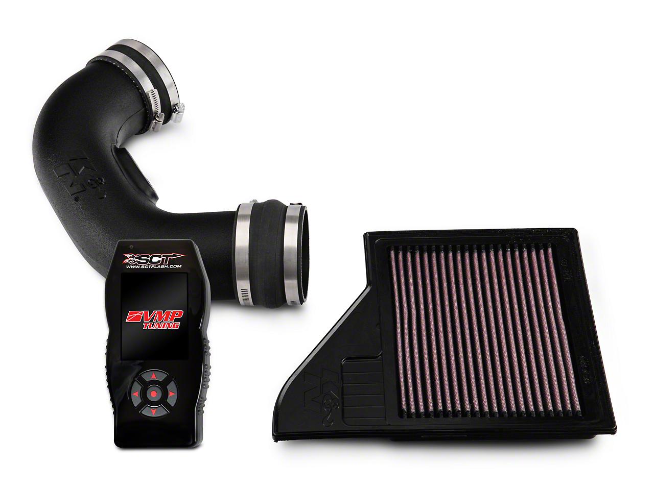 K&N Series 57 FIPK Intake & SCT X4 Tuner w/ VMP Tunes (11-14 GT)