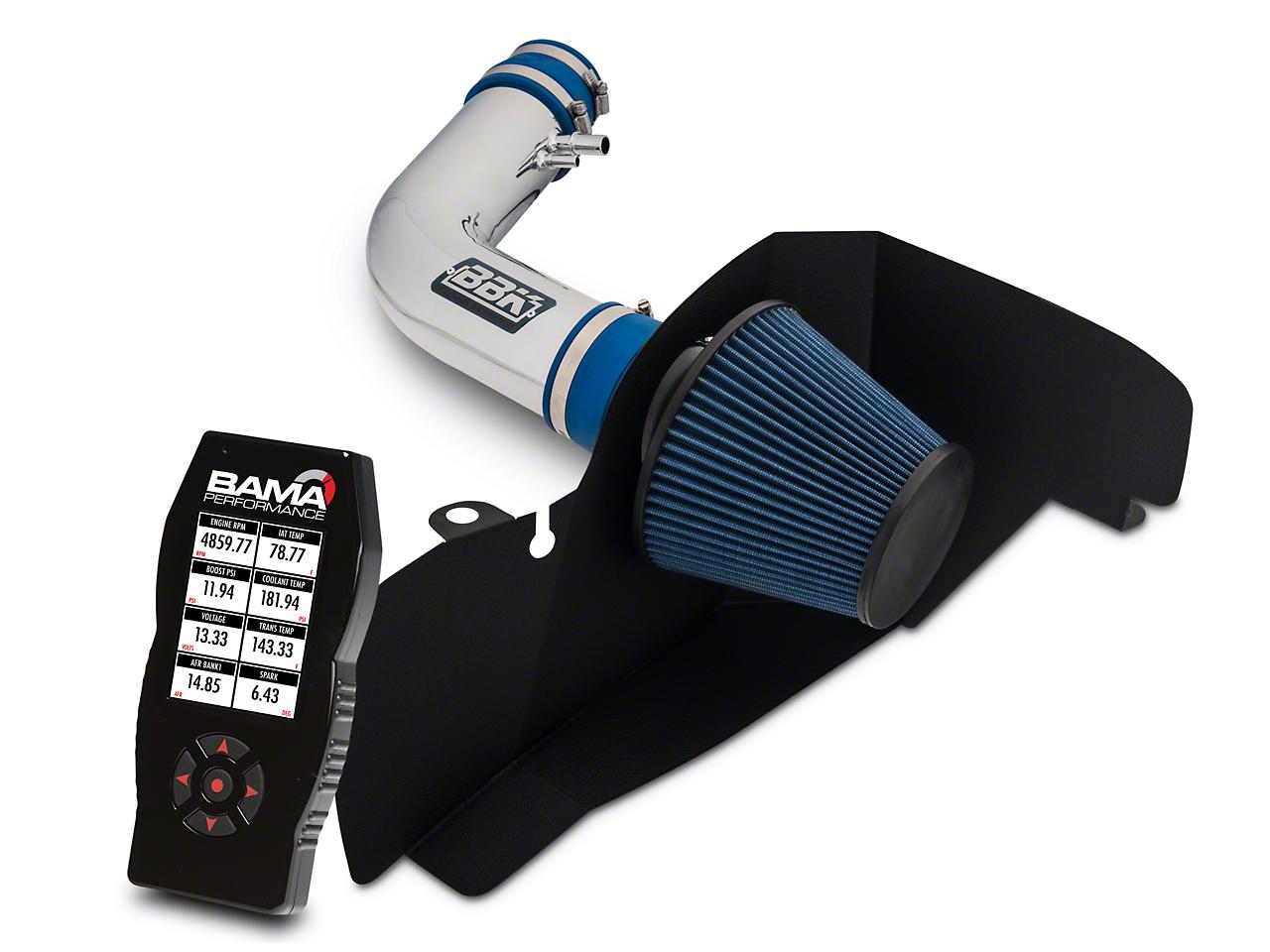 BBK Chrome Cold Air Intake & Bama X4 Tuner (15-17 V6)