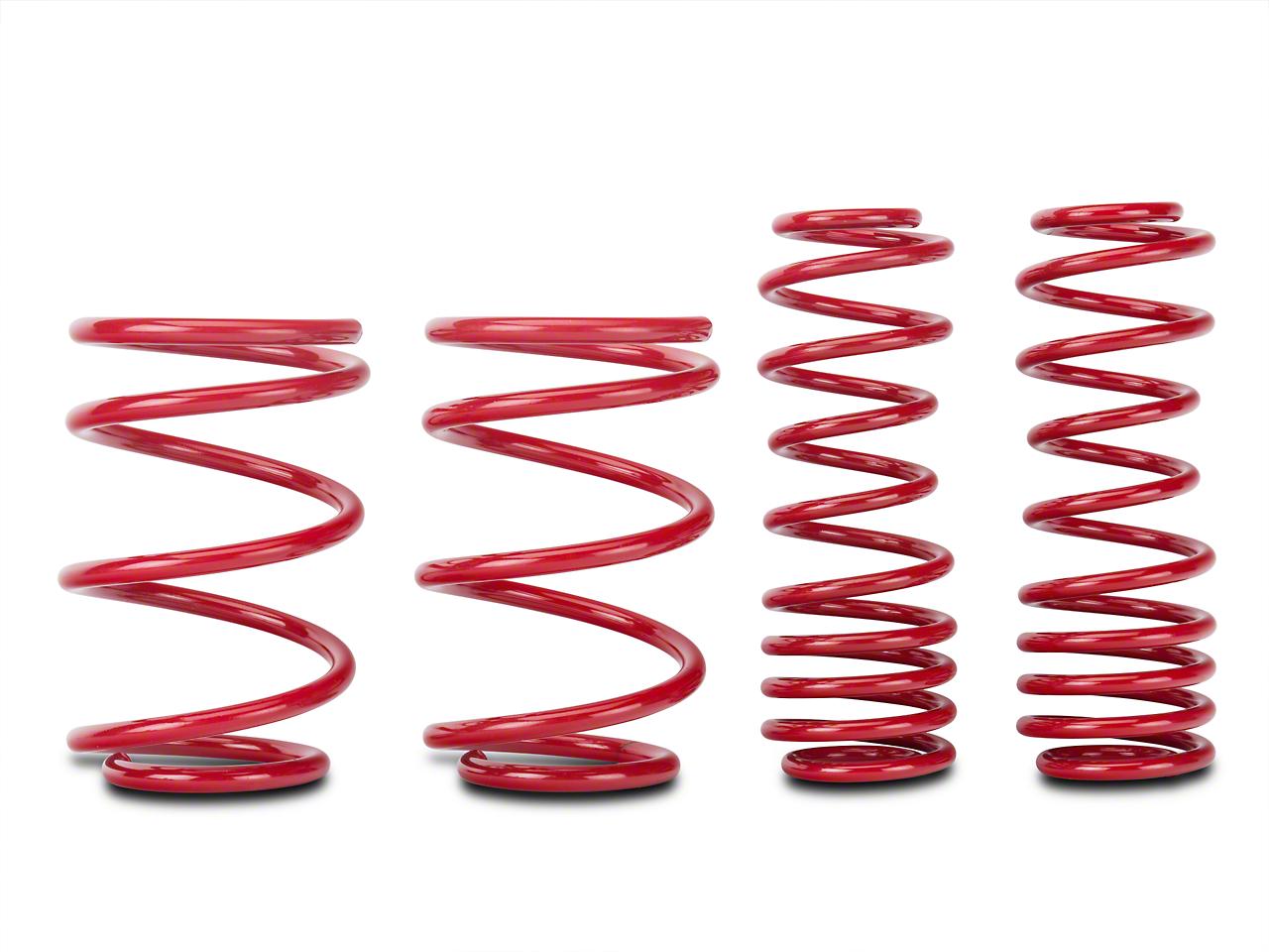 BMR Lowering Springs, Rear, 1.5 in. Drop, Handling, GT500 - Red (07-14 GT500)