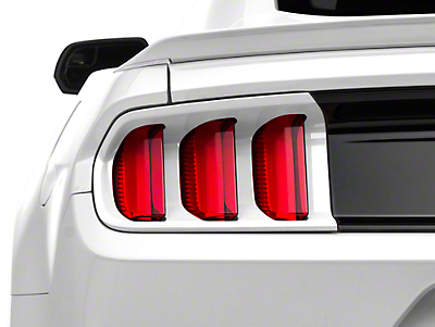 MMD Tail Light Trim - Race Red (15-17, Exc. 50th Anniversary)