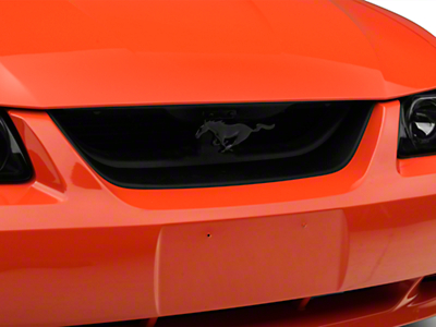 SpeedForm Mach 1 Grille Delete Kit w/ Black Pony Emblem (99-04 GT, V6)