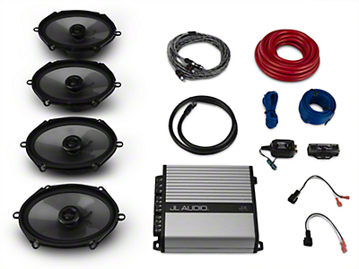 Raxiom by JL Audio Base Stereo Upgrade Kit (15-17 All w/ Base Stereo)