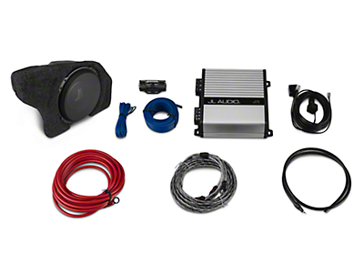 Raxiom by JL Audio Subwoofer Upgrade Kit (15-17 Fastback w/ Factory Subwoofer)