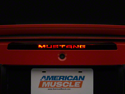 3rd Brake Light Decal (99-04 All; Excludes 03-04 Cobra)