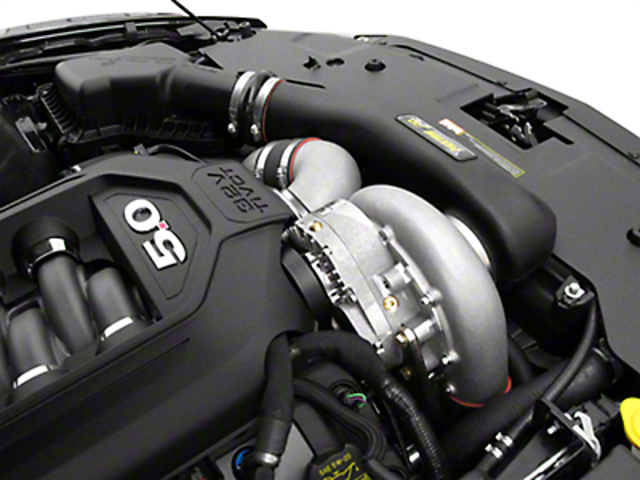 Paxton 8 Rib Novi 2220SI H.O. Supercharger Tuner Kit - Satin (11-14 GT)