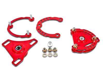 BMR Caster Camber Plates - Red (15-17 All)