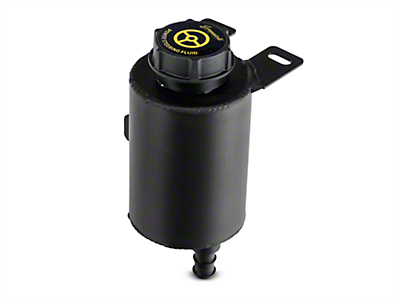 GMS Aluminum Remote Power Steering Reservoir - Black Anodized (94-04 All)